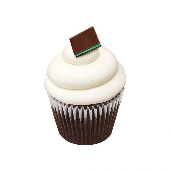 Simply Mint Cupcake